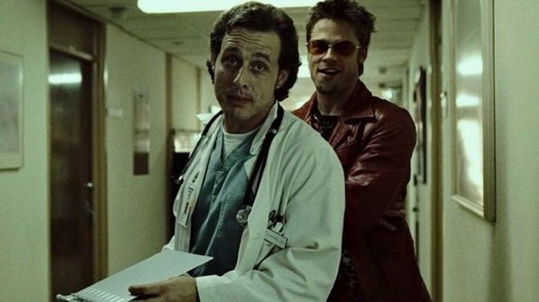 The Most Paused Brad Pitt Moment In Fight Club