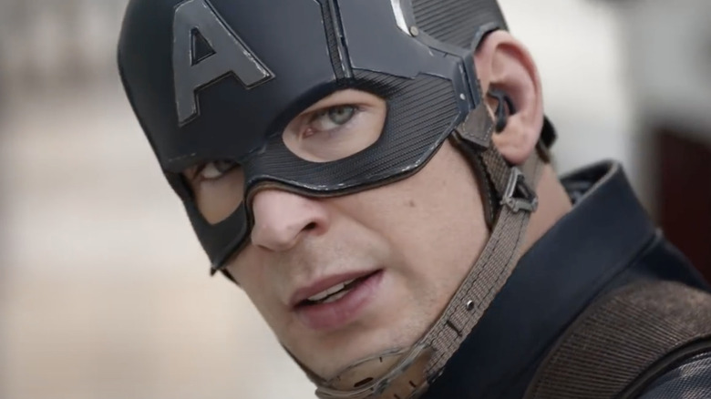 "Steve Rogers in ""Captain America: Civil War"""