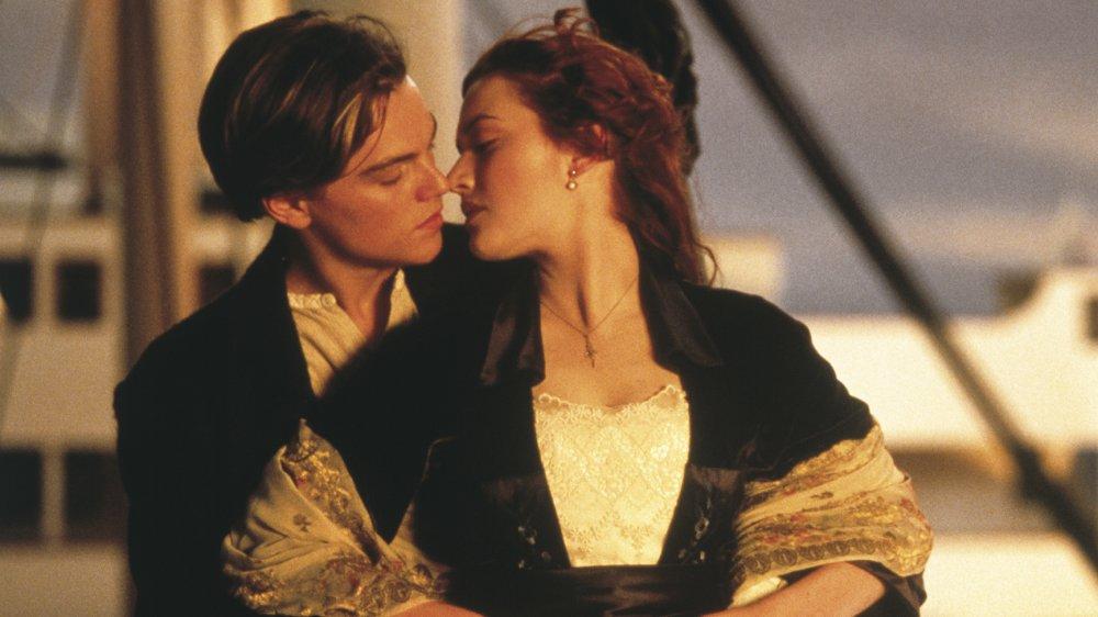 Jack and Rose Titanic kiss