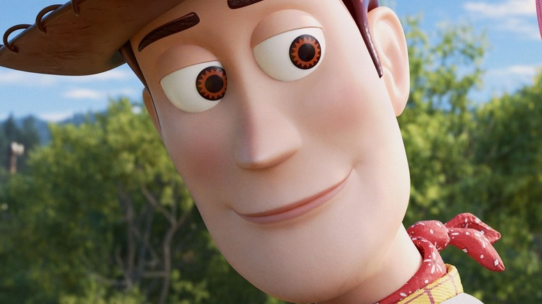 Woody in a promotional image for Toy Story 4