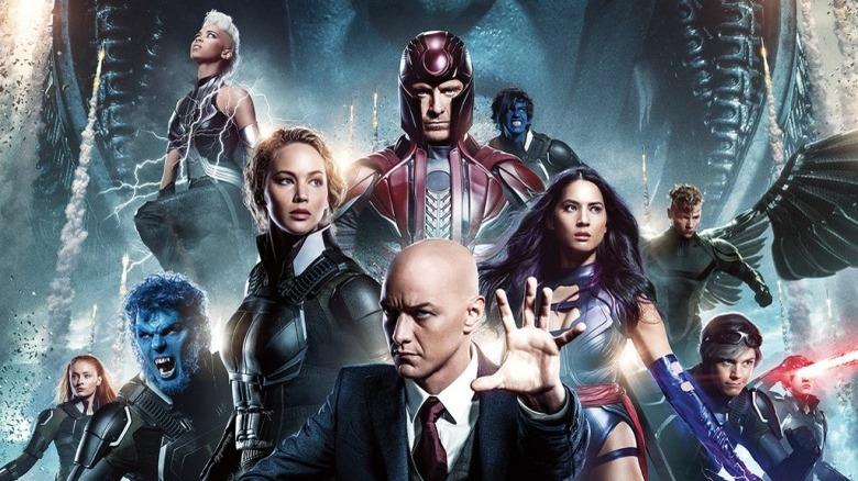 X-Men Apocalypse poster art