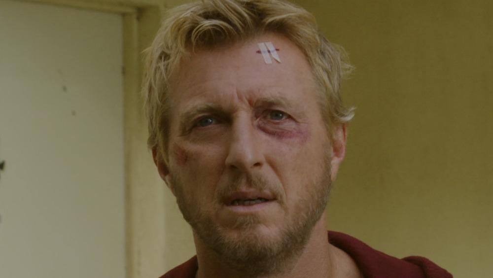 William Zabka Johnny Lawrence black eye cuts