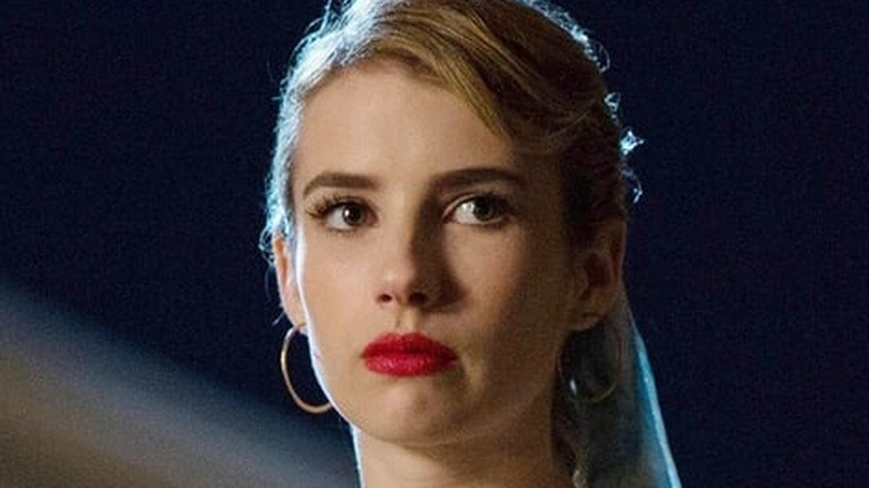 Emma Roberts sad eyes