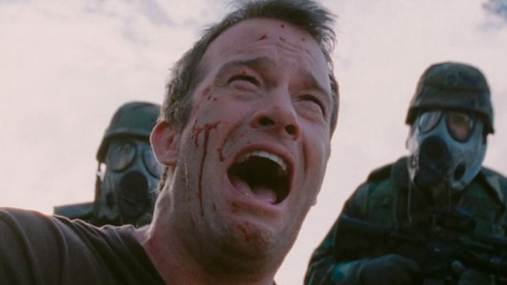 Thomas Jane crying in The Mist
