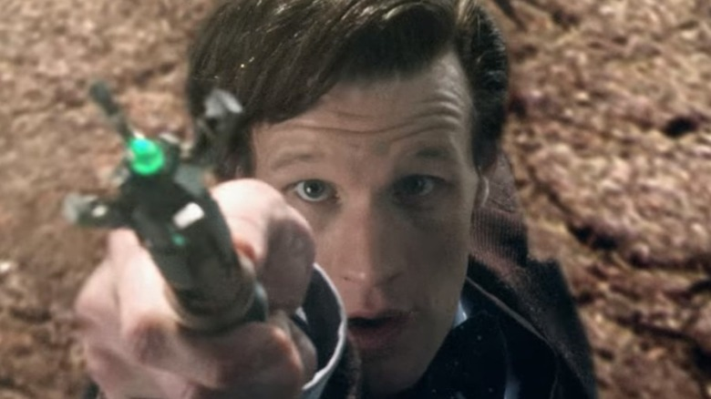 The Doctor screwdriving