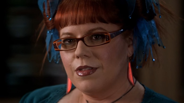 Penelope Garcia with red hair