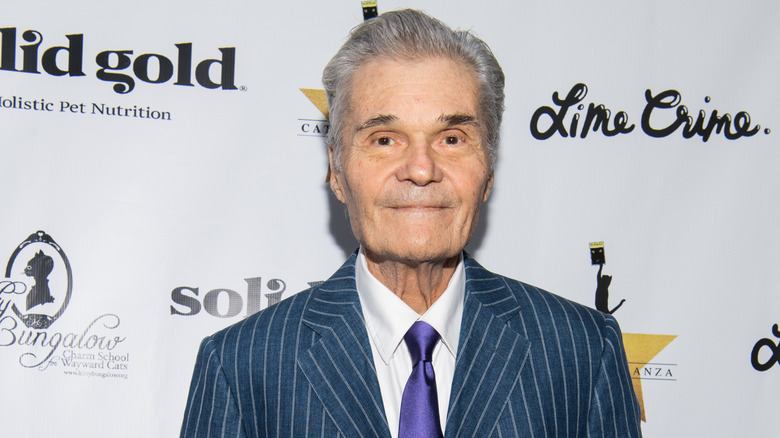 Fred Willard, less than a month before his death