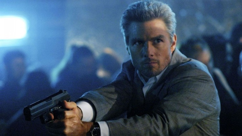 Tom Cruise as Vincente in Collateral