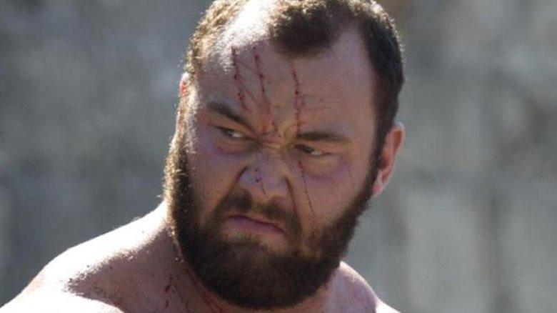 Hafthor Julius Bjornsson as The Mountain in Game of Thrones