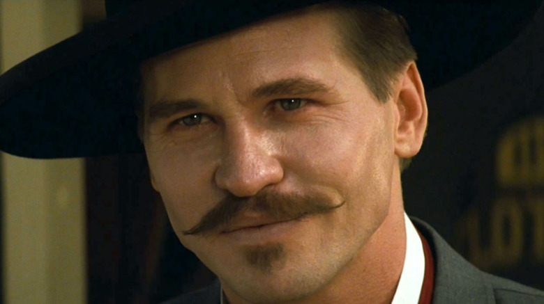 Val Kilmer playing Doc Holliday