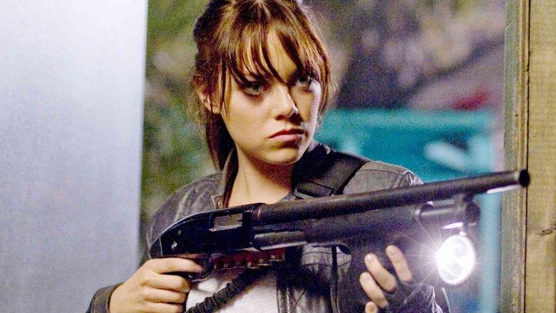 Emma Stone as Wichita in Zombieland