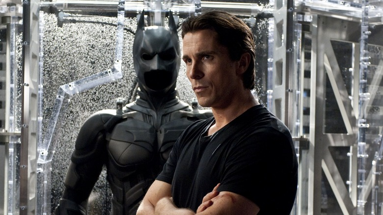 Christian Bale as Bruce Wayne in The Dark Knight