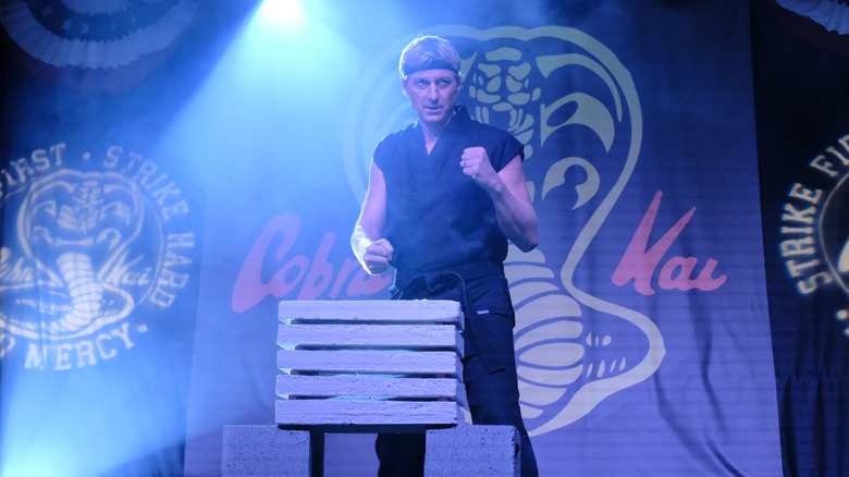 William Zabka on Cobra Kai