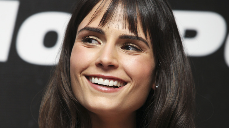 Jordana Brewster smiling