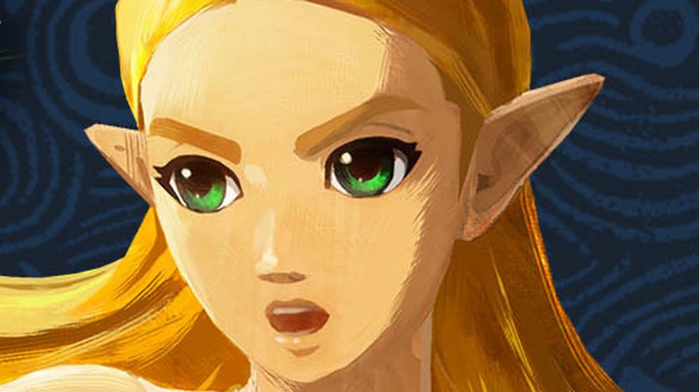 Princess Zelda shouting