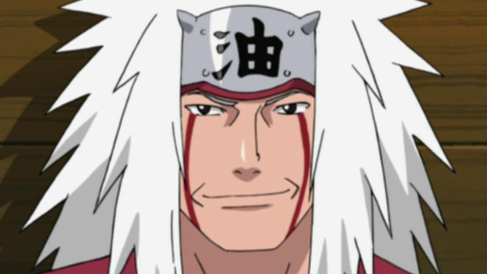 Jiraiya Naruto Face Close-up