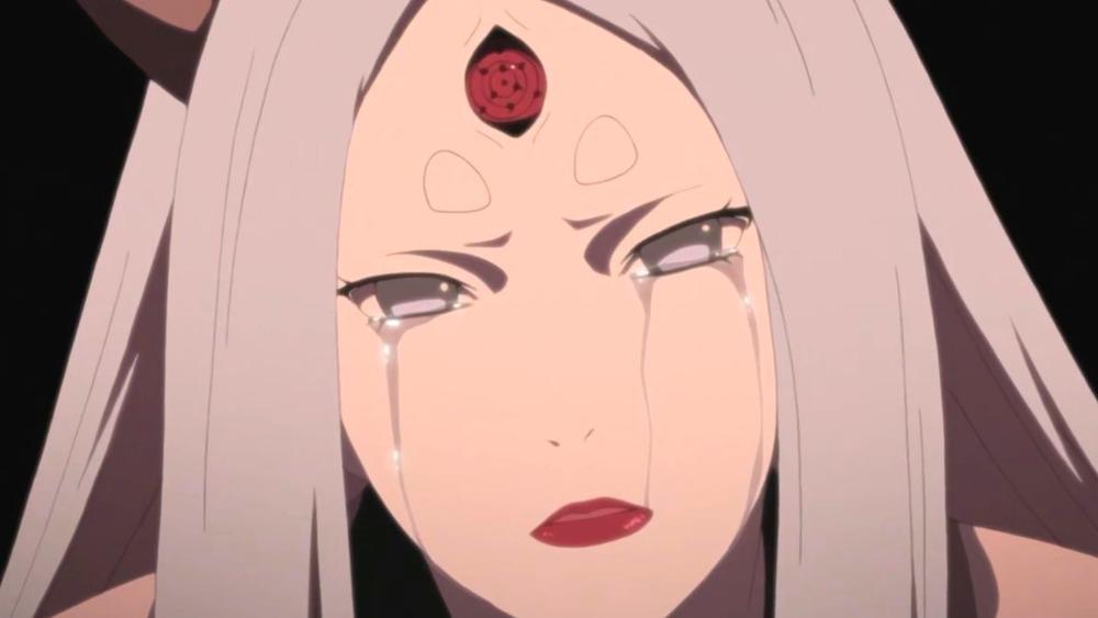 Kaguya Crying in Naruto
