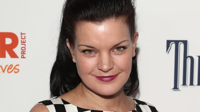 Pauley Perrette at red carpet event