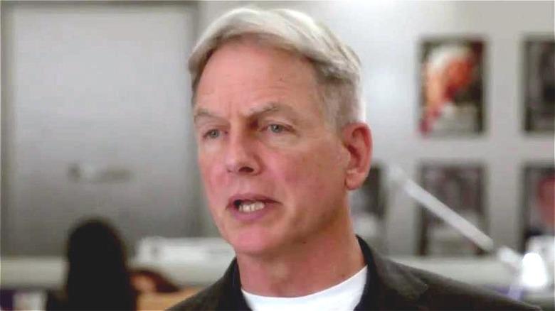 NCIS Gibbs Talking Face