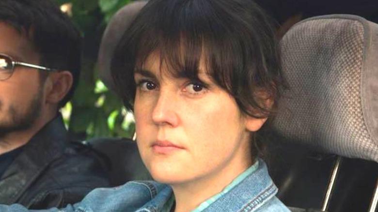 Melanie Lynskey staring intently