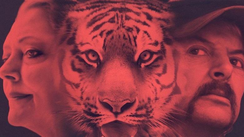 Carol Baskin and Joe Exotic Tiger King