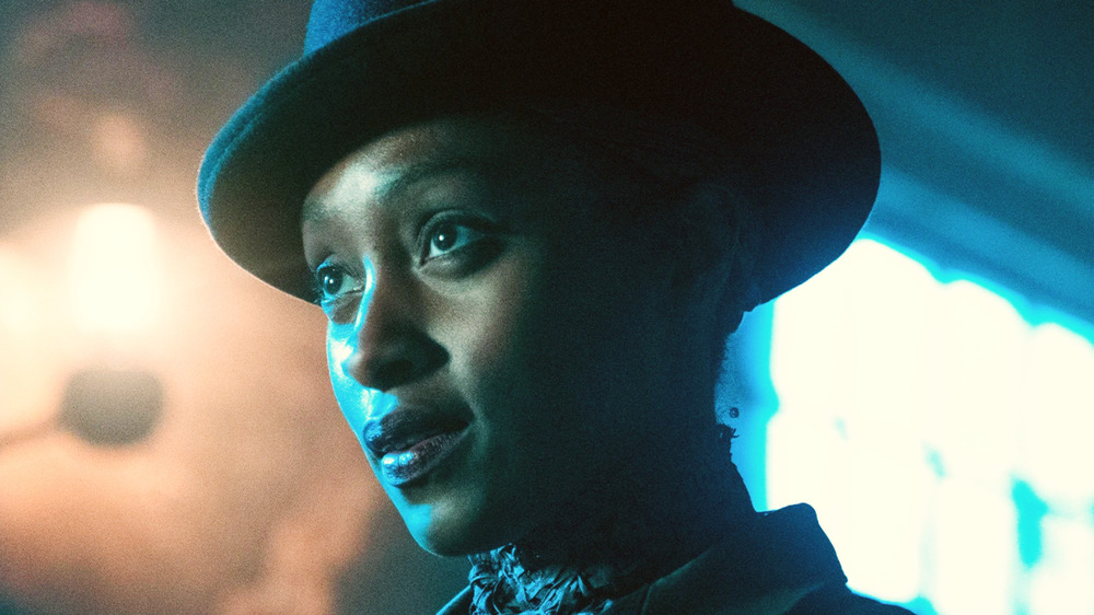 Rochelle Neil as Annie Carbey, aka Bonfire, in The Nevers