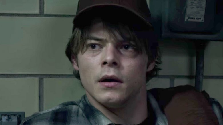 Charlie Heaton as Sam Guthrie Cannonball in The New Mutants