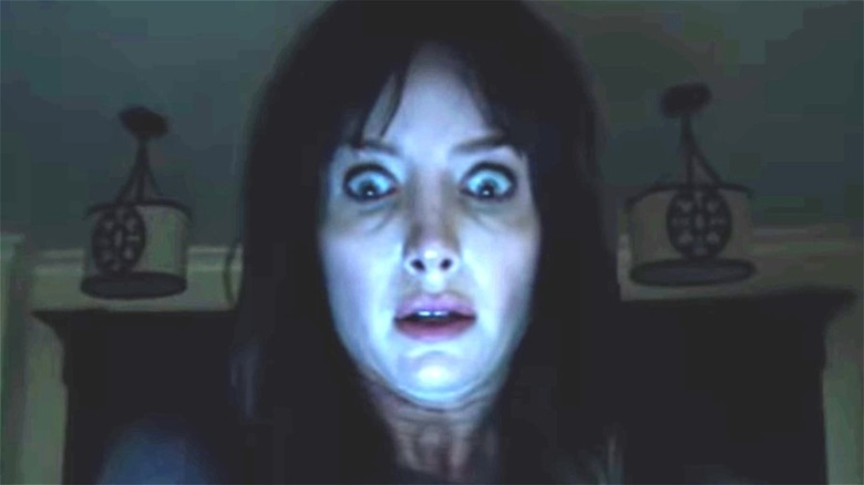 Madison looking terrified