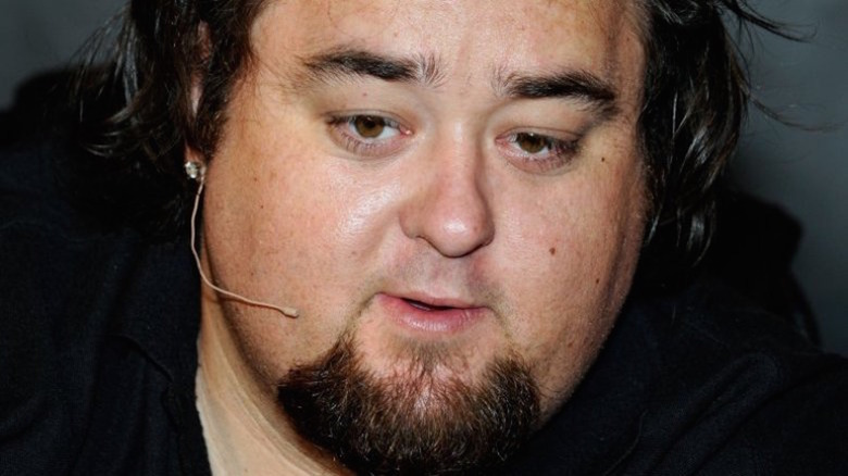 Chumlee with headset