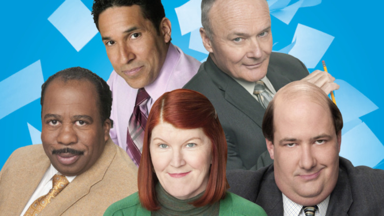 The Office cast promo poster