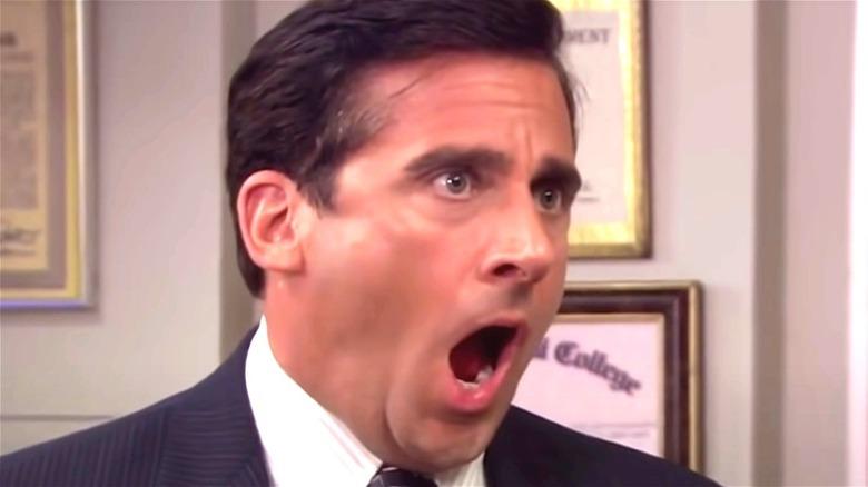 Steve Carell Michael Scott screaming meme