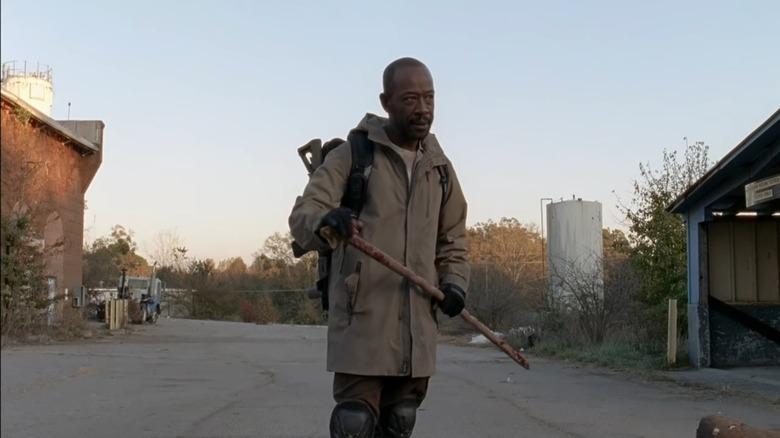 Lennie James as Morgan Jones on The Walking Dead