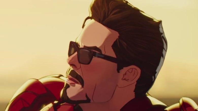 Animated Iron Man sunglasses