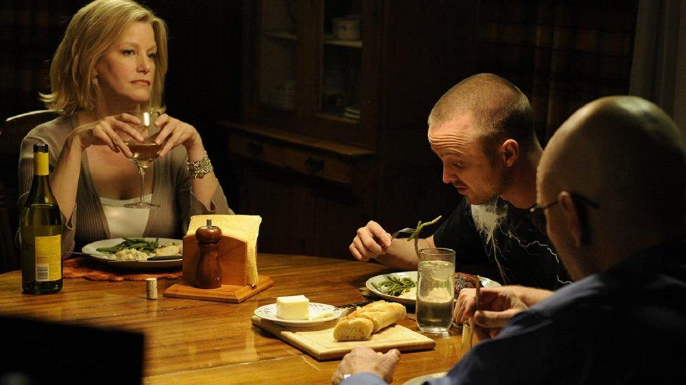 Anna Gunn, Aaron Paul, and Bryan Cranston on Breaking Bad