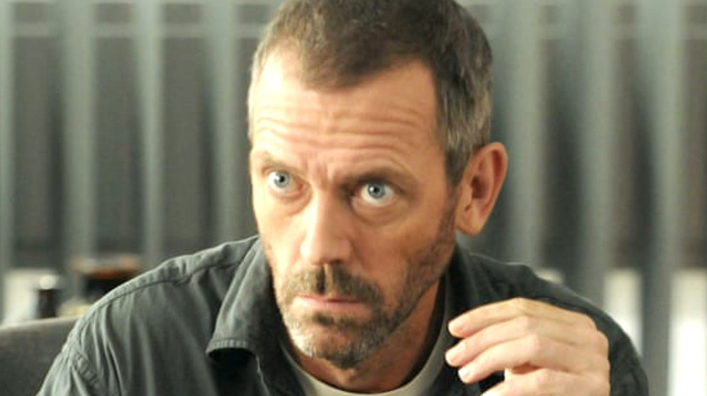 Gregory House with beard