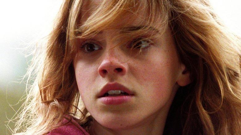 Emma Watson Hermino Granger surprised