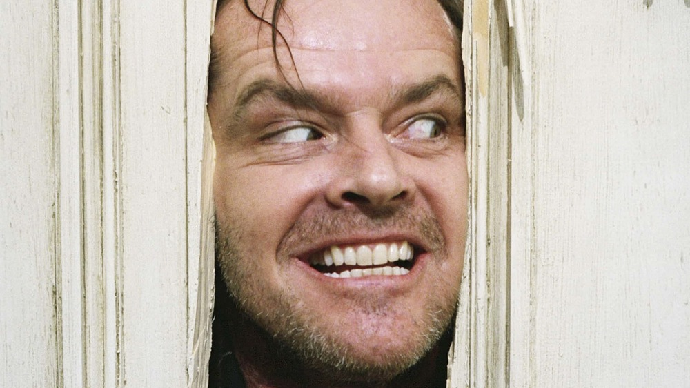 """The Shining going """"Here's Johnny!"""""""