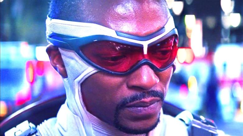 Sam Wilson in Captain America suit