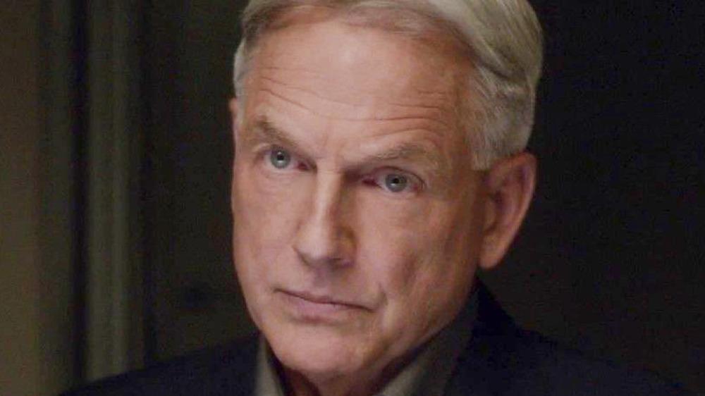 Gibbs looking stern NCIS