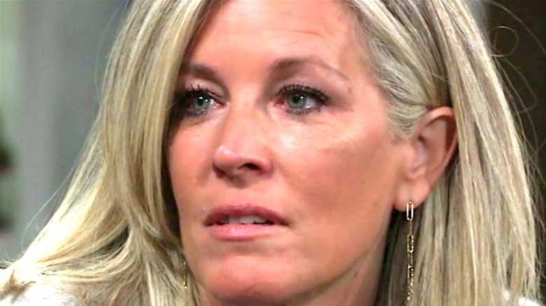 Carly Corinthos crying on GH
