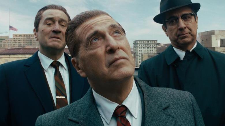 Robert De Niro, Al Pacino, and Ray Romano in The Irishman