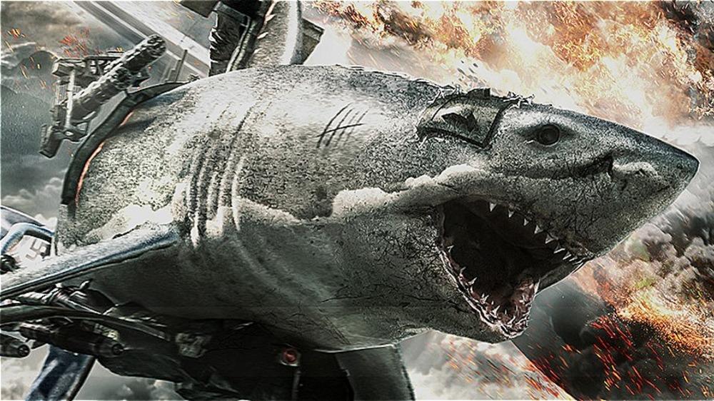 Zombie shark flies into action in Sky Sharks