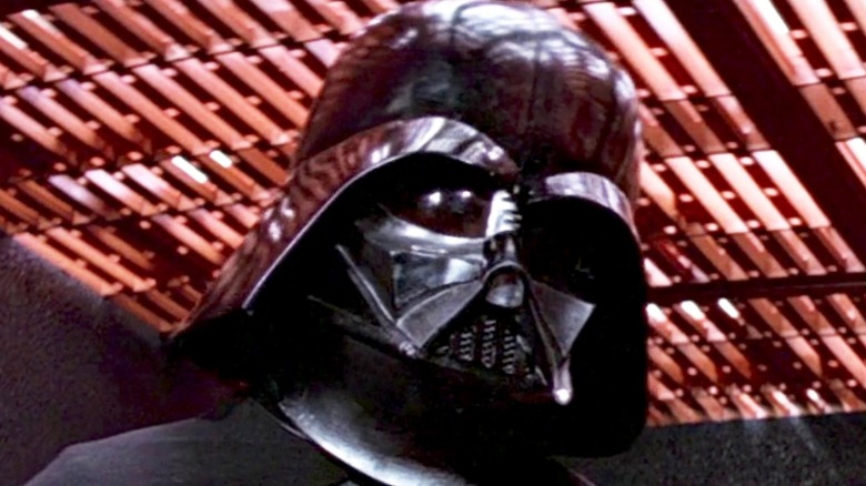 Darth Vader looking menacing
