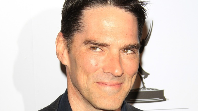 Thomas Gibson at event