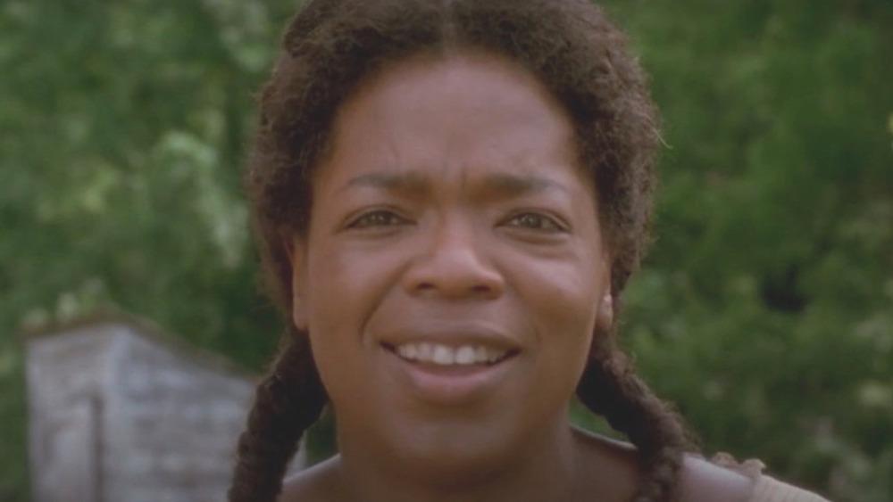 Oprah Winfrey in a scene from Beloved
