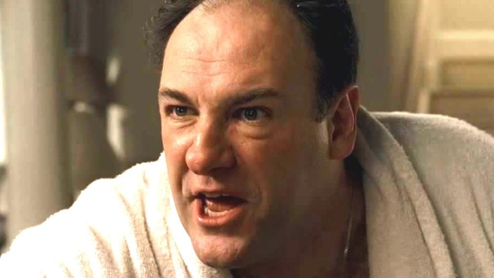 Tony Soprano angry