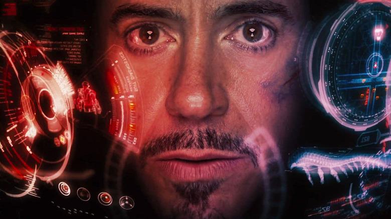 Robert Downey Jr. as the MCU's Iron Man