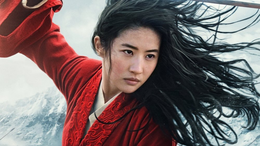 Liu Yifei as Disney's Mulan