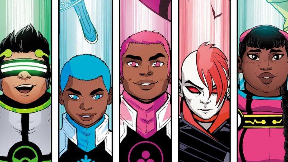The New Warriors Marvel Comics