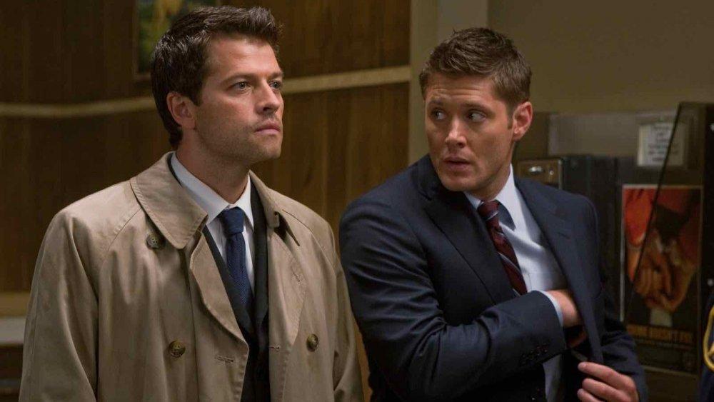 Jensen Ackles and Misha Collins on Supernatural